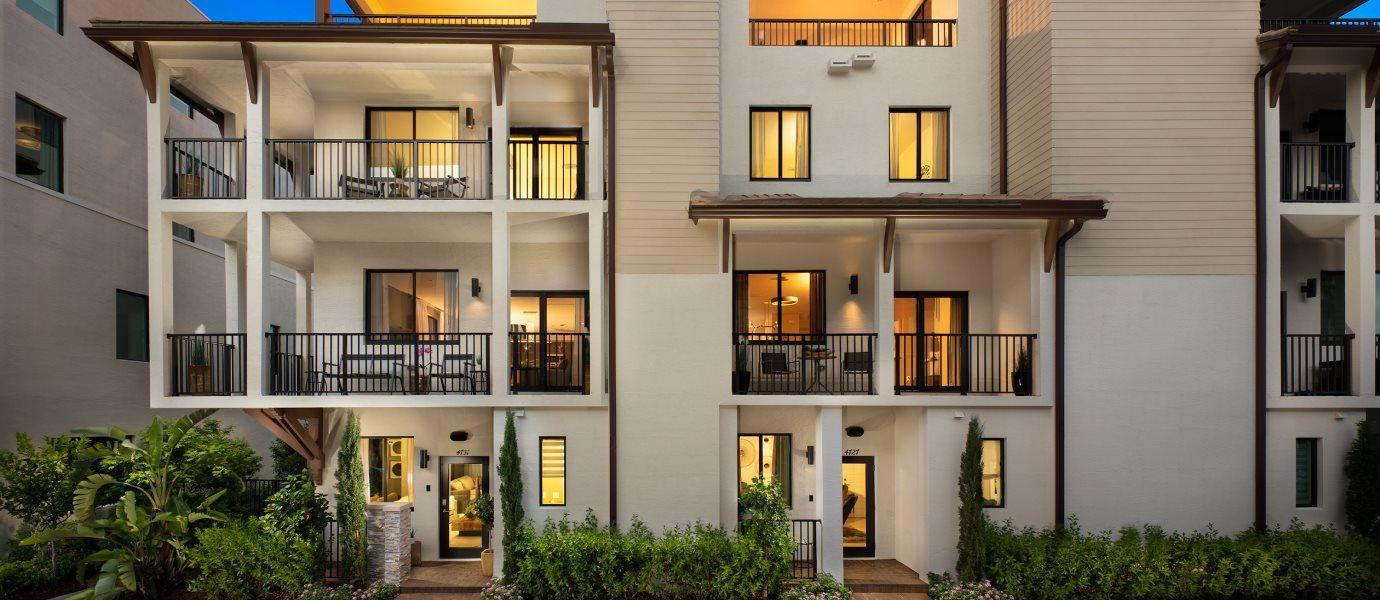 Urbana 4-Story Townhomes Home