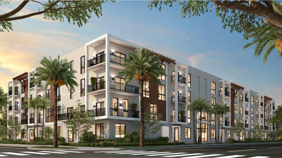 Urbana Midrise Condominium Residences Model MB Ext