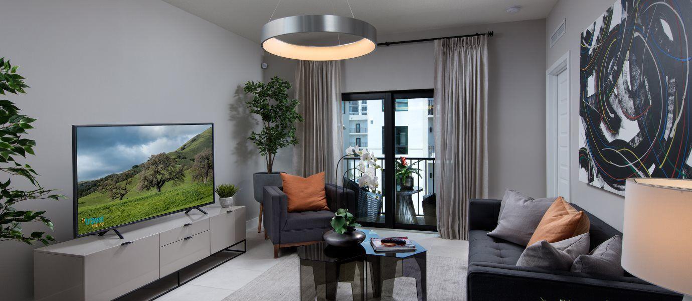 Urbana Midrise Condominium Residences Model MD Liv