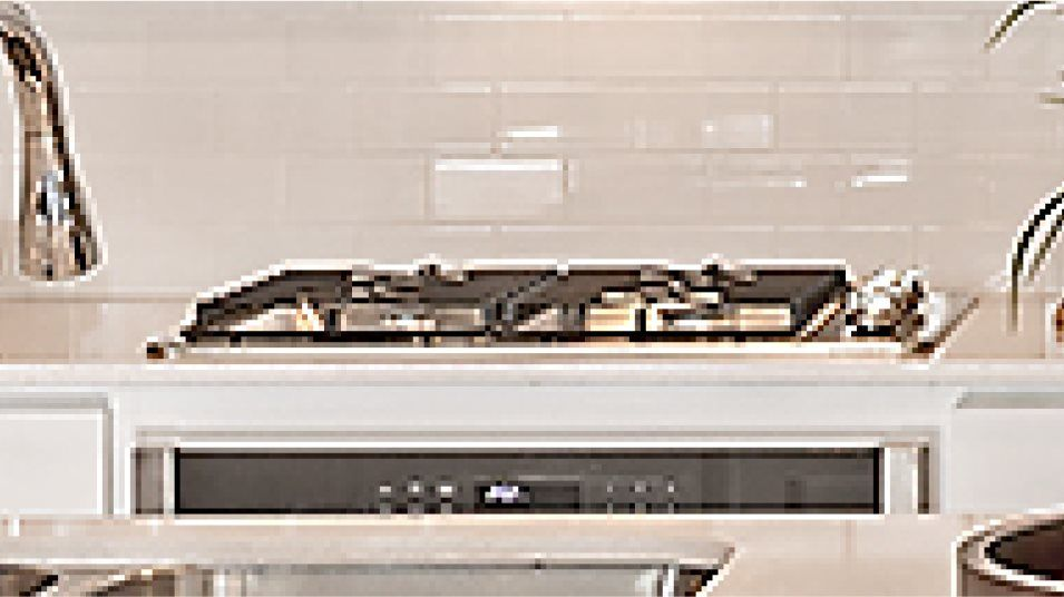Fireside Park Rosso Kitchen Cooktop