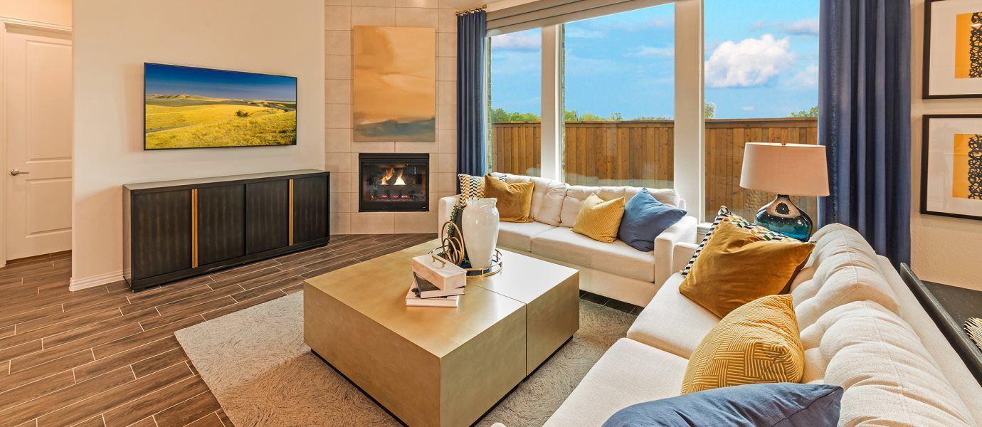 Elements at Viridian Monroe Living Room