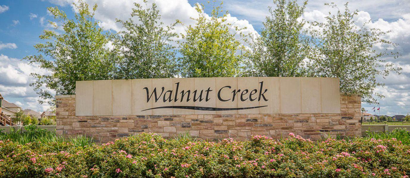 Walnut Creek Entrance Sign