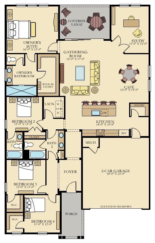 Barton Floor Plan