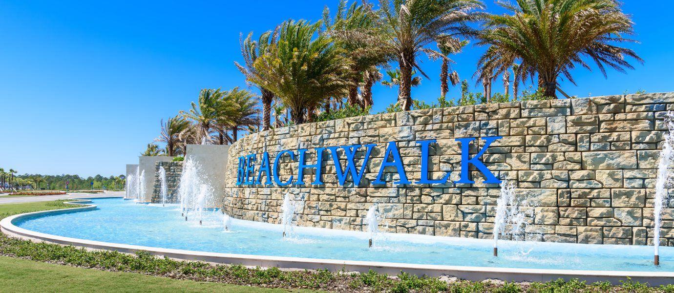 Beachwalk Entrance Sign