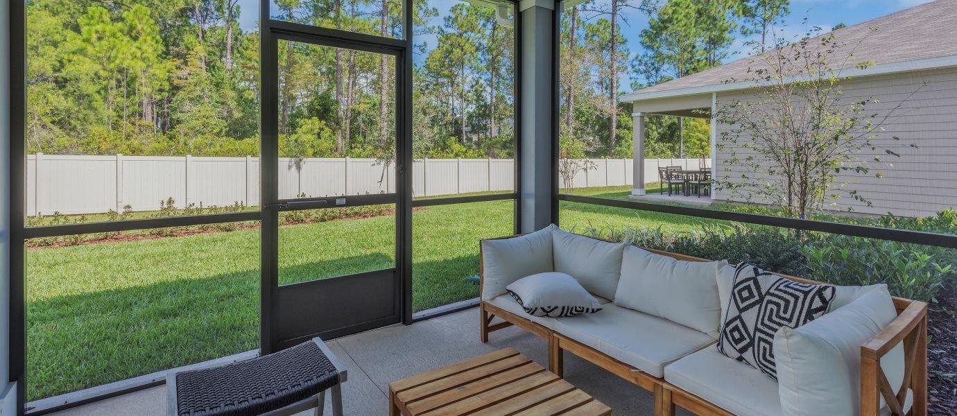 Tributary Home Backyard Patio