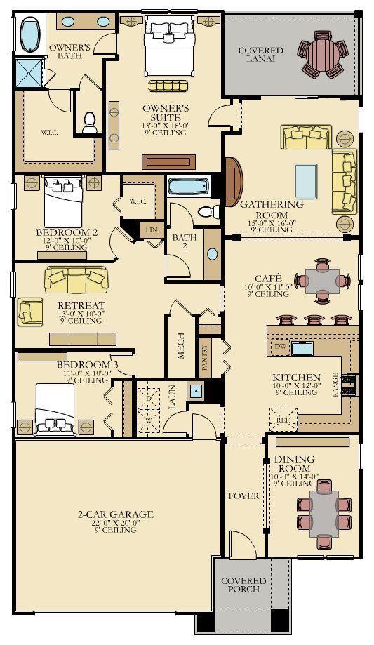 Cordova Floor Plan