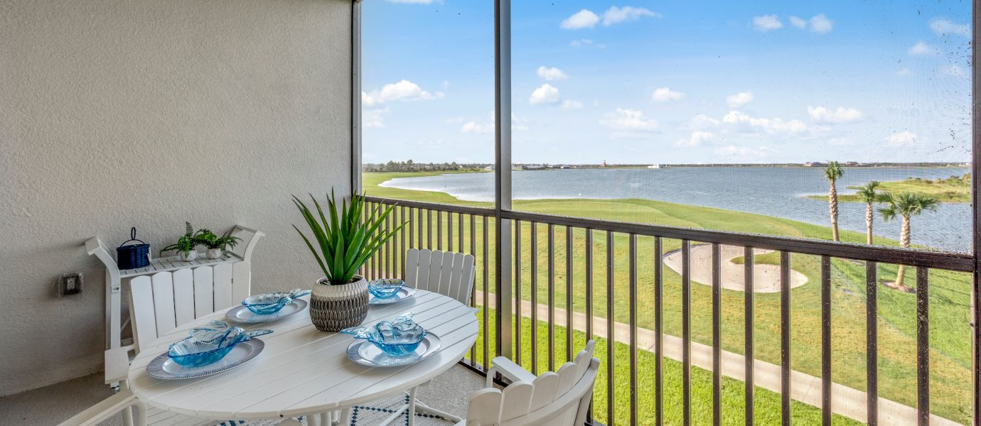 Babcock National Terrace Condominiums Backyard view