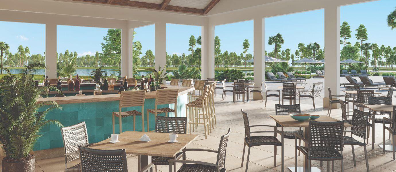 Executive Homes - The National at Ave Maria Swimming Pool Bar