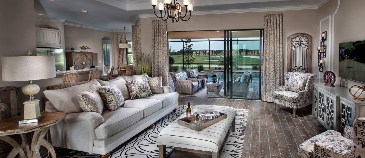 Estate Homes Napoli Grande LivingRoom