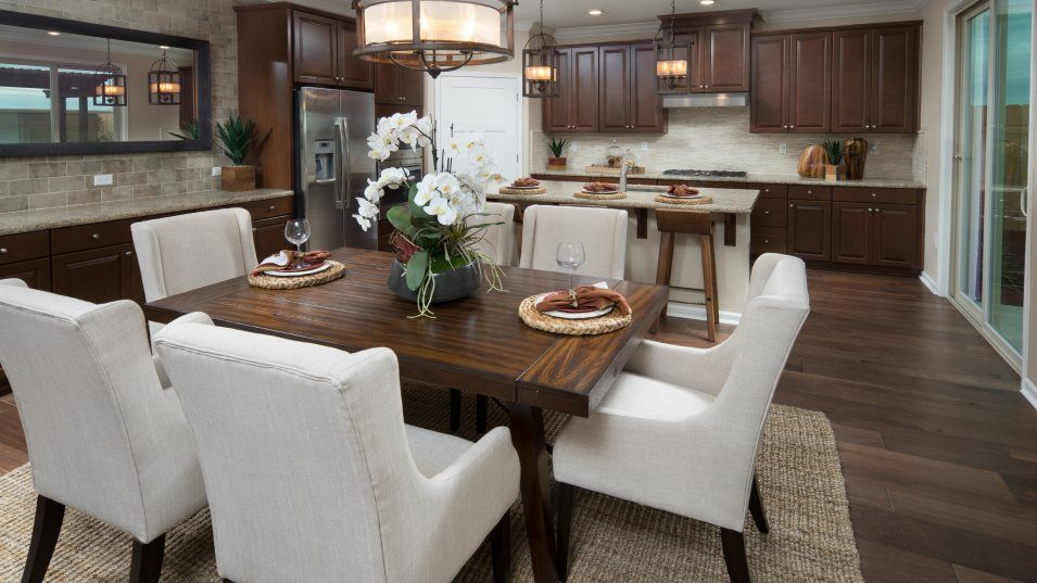 Heritage Vineyard Creek The Tuscany - Plan 2206 Ki:With brand-new stainless steel appliances, a granite-topped center island and a corner pantry, this