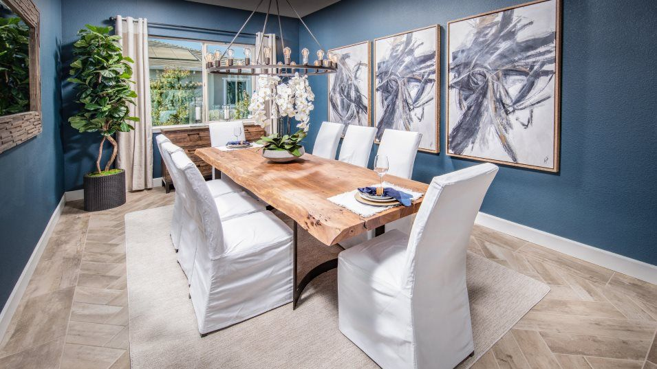 Summerstone at Spring Lake Residence 2700 Dining R:The formal dining room can be found nearby, offering a spacious place for meals with extended family