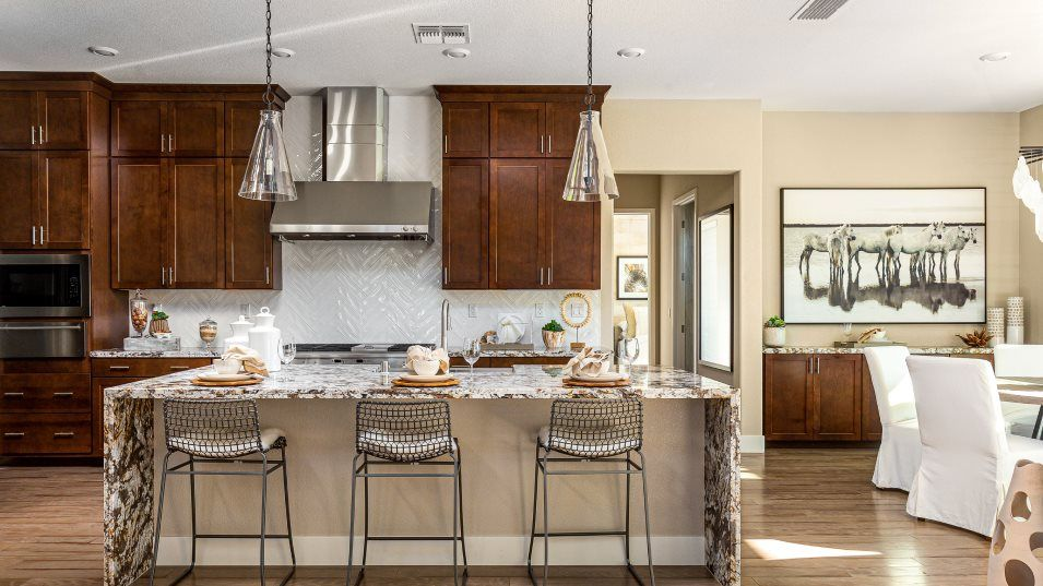 Hawk View at Bass Lake Hill Residence 2531 Kitchen:The gourmet kitchen, which has two convection ovens, is ideal for culinary adventures. A center isla