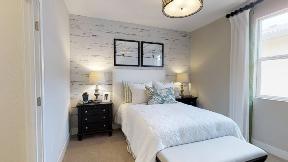Heritage Solaire Larissa Residence 2309 Bedroom 3:Both secondary bedrooms include en-suite bathrooms for added privacy.