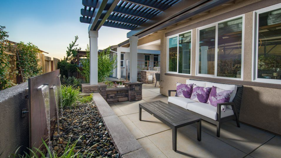 Heritage Solaire Larissa Residence 2188 Outdoor Sp:A covered California Room is perfect for outdoor entertaining, while exposed patio space offers vers