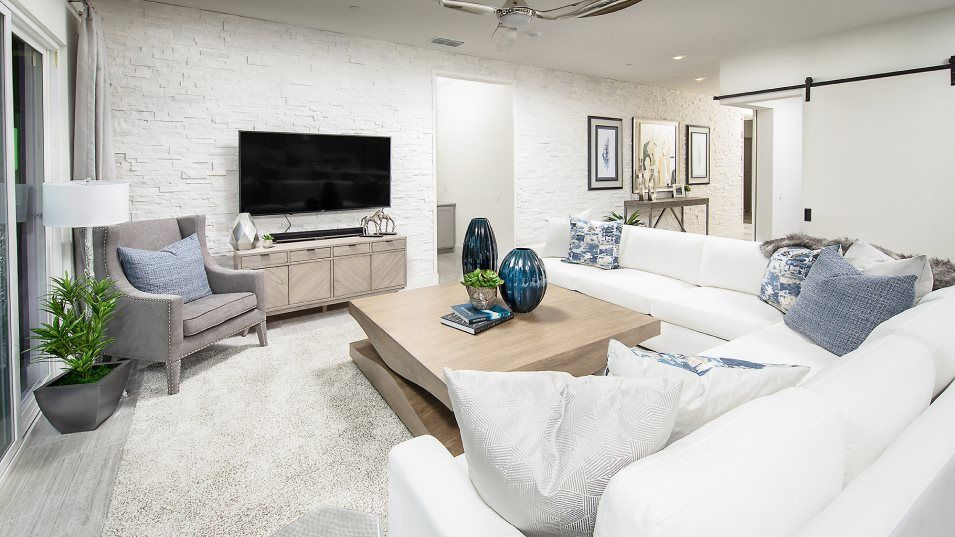 Heritage Solaire Eclipse Residence 2466 Great Room:The inviting Great Room is the ideal place for at-home movie nights or entertaining guests. The open
