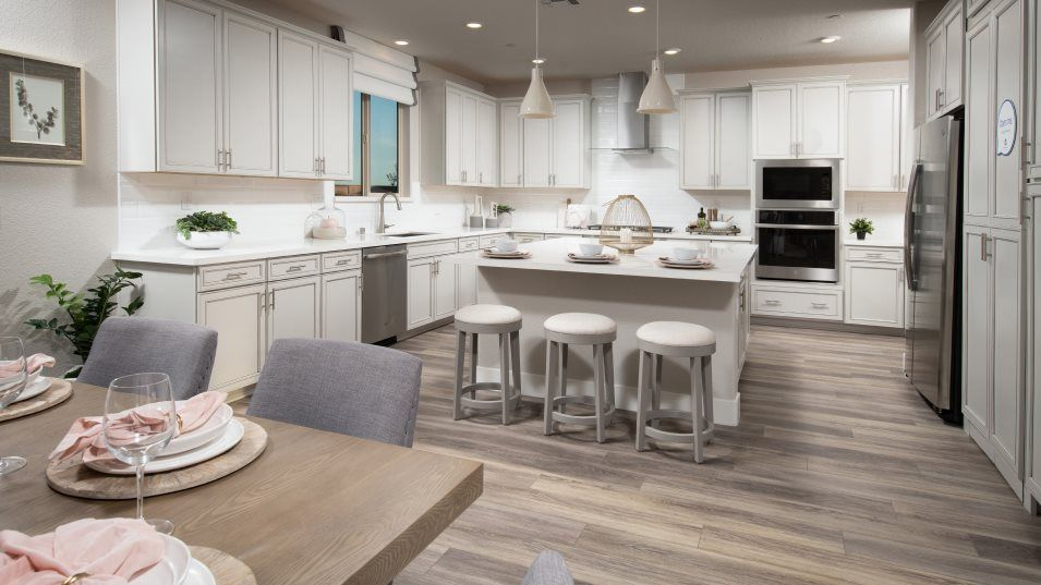 Magnolia at Spring Lake Residence 3023 Kitchen:The chef-caliber kitchen will inspire attempts at new recipes. Brand-new stainless steel appliances,