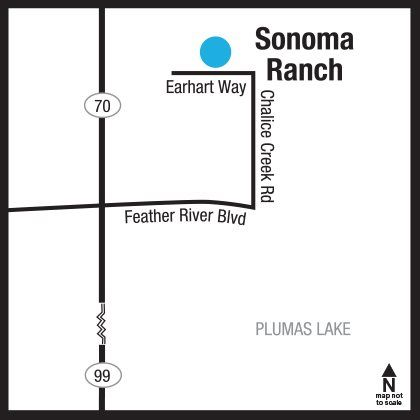 Sonoma Ranch Locator Map