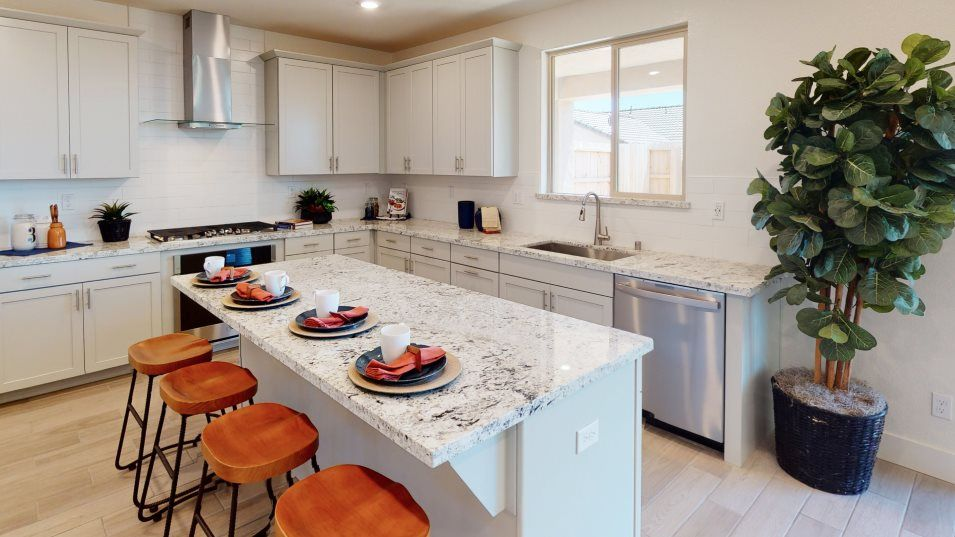 Ventana Residence 3175 Kitchen:Gleaming stainless-steel appliances and granite countertops brighten the gourmet kitchen, which will
