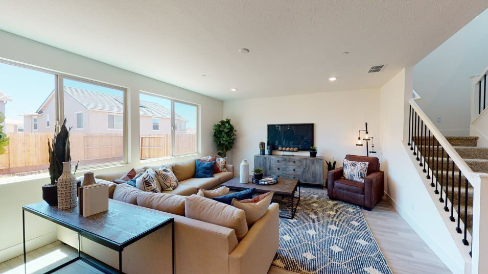 Ventana Residence 3175 Great Room:The wide-open Great Room is the perfect place to stretch out on the couch and enjoy quality family t
