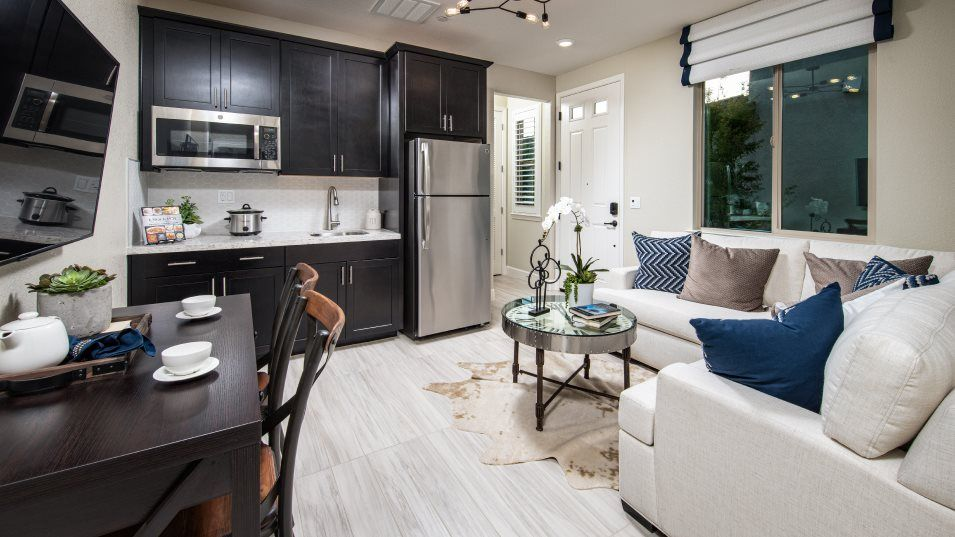 Oceano at Fieldstone Residence 3033 Next Gen® Suit:The convenient Next Gen® suite offers a separate living space, ideal for multigenerational household
