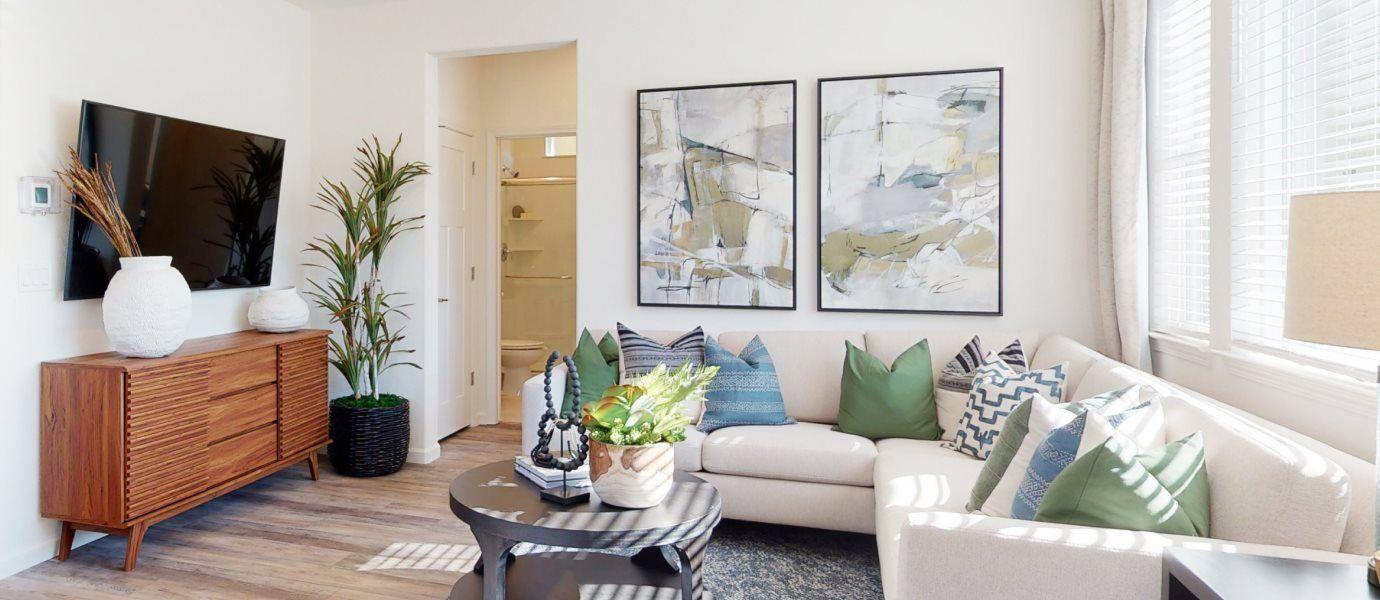 Belle Maison at Campus Oaks Residence 1438 Living