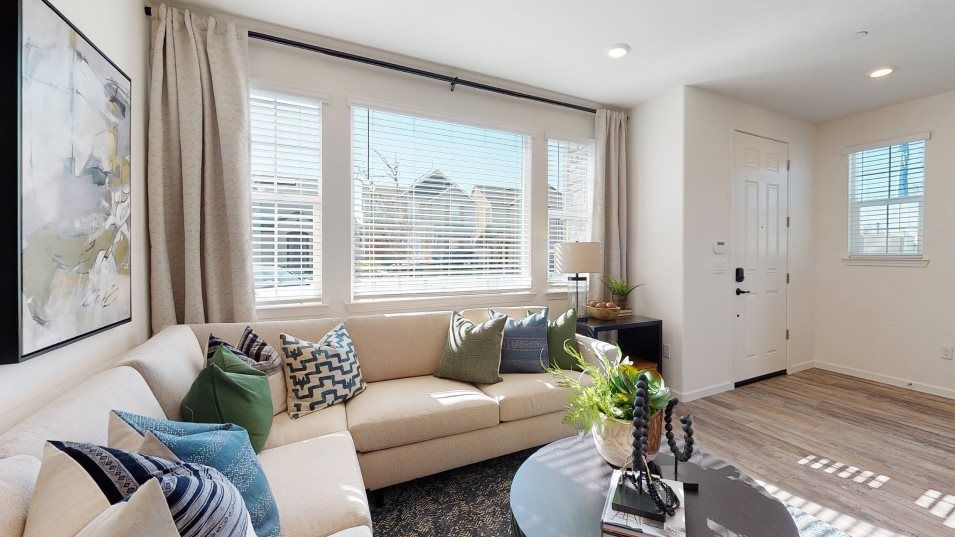 Belle Maison at Campus Oaks Residence 1438 Great R:Set among the efficient open floorplan, the Great Room operates as a central space for gathering and