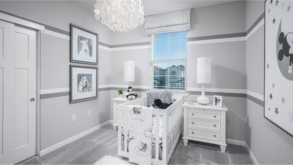 Belle Maison at Campus Oaks Residence 2031 Bedroom:Situated adjacent to the other secondary bedroom, this space is perfect for kids and features a slid