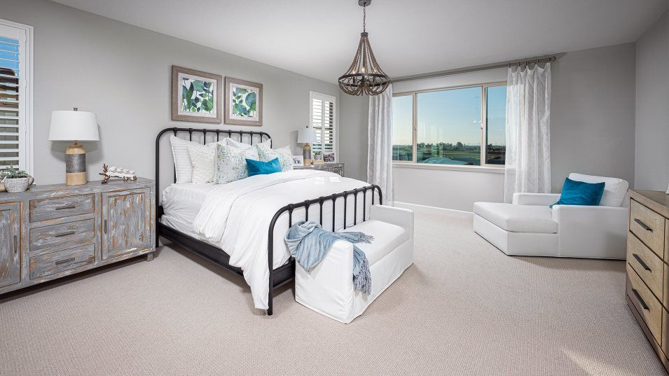 Lumiere at Sierra West Residence 3569 Owner's Suit:With dual walk-in closets, the owner's suite features plenty of wardrobe, shoe and linen storage. A