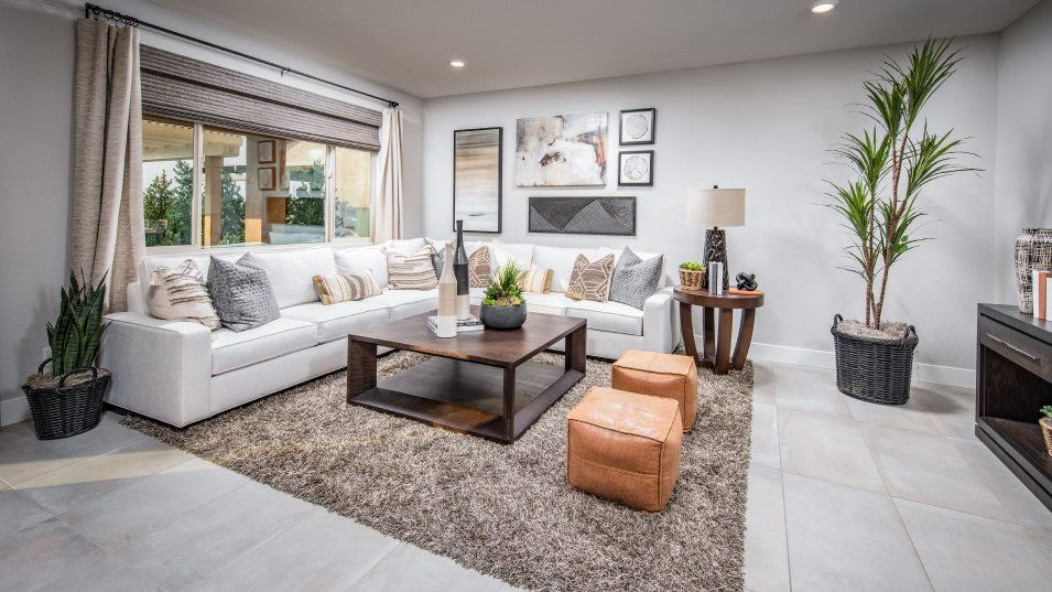 Garnet at Barrett Ranch Residence 2365 Great Room:The generous Great Room is a comfortable gathering space within the home, offering an ideal spot for