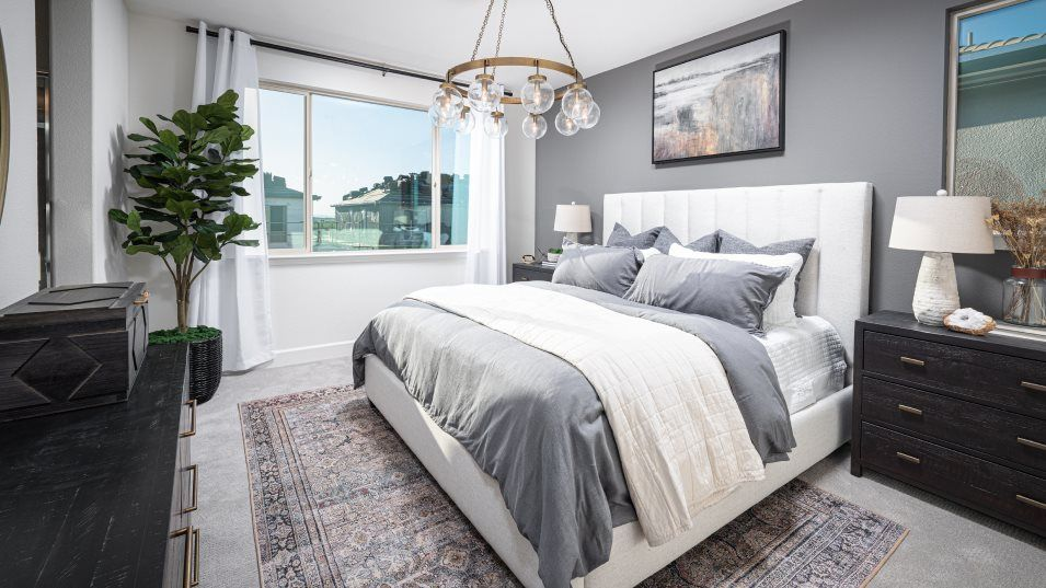 Essentia at Sterling Meadows Residence 1638 Owner':With a private, spa-like bathroom and a generous walk-in closet, the owner's suite is a peaceful san