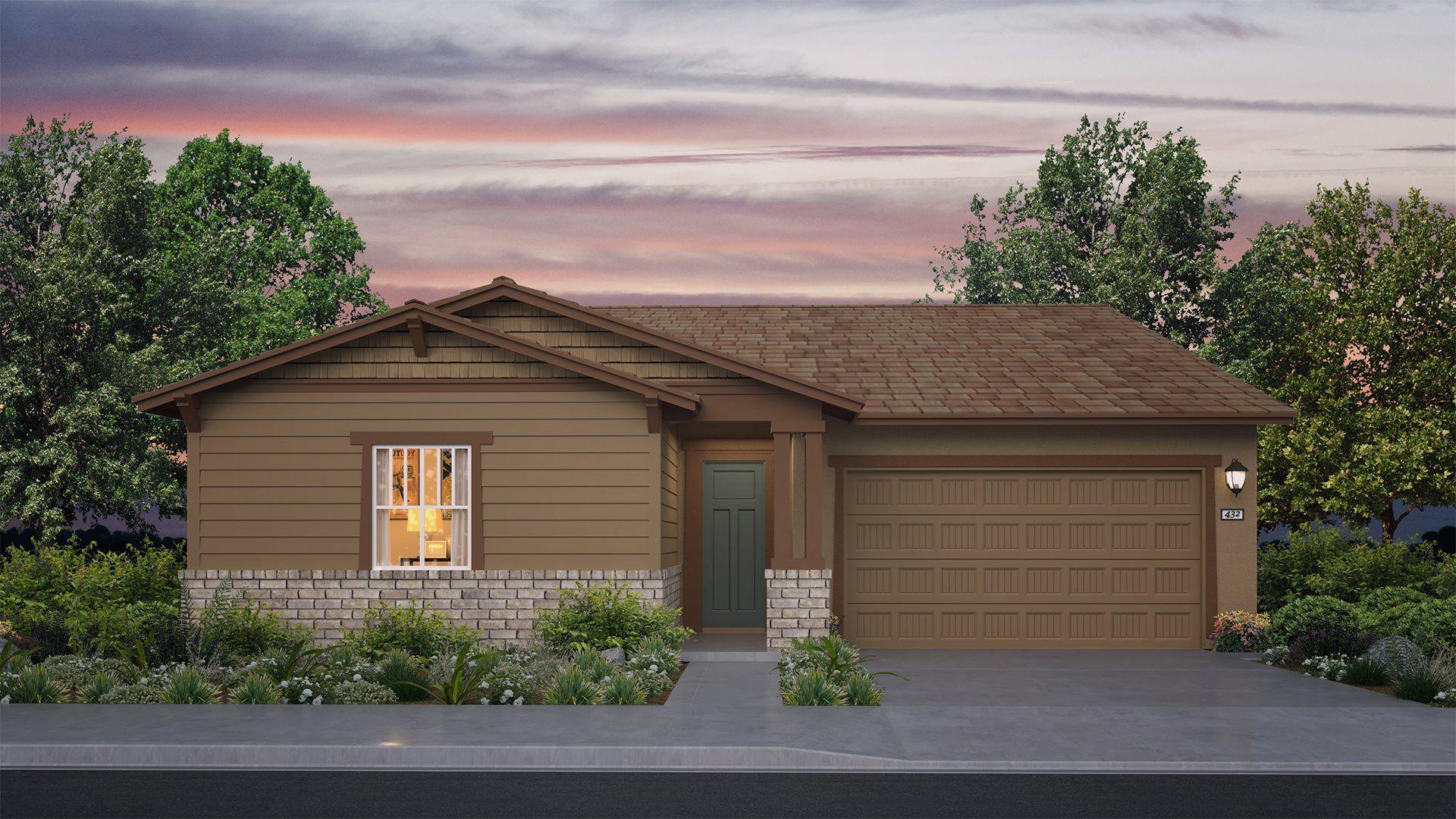 Residence 2162 | Elevation B