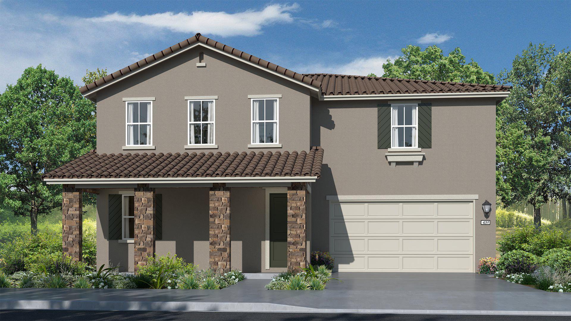 Residence 3028 | Elevation C