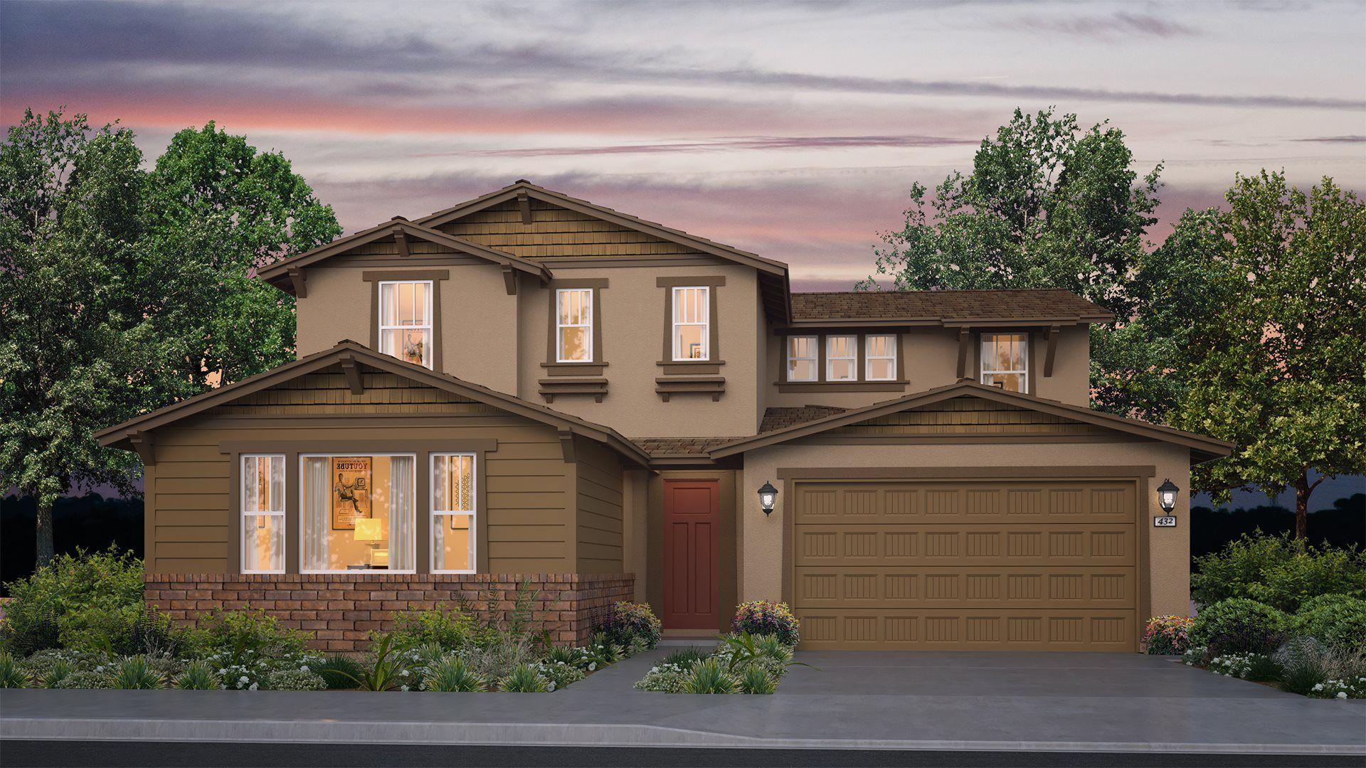 Residence 3135 | Elevation B