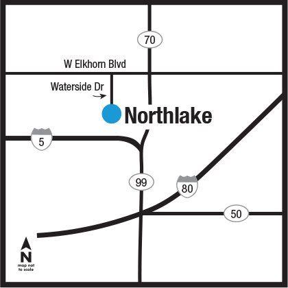 Northlake Locator Map