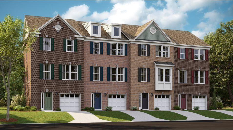 St. Charles St. Charles Townhomes  Tydings II Fron