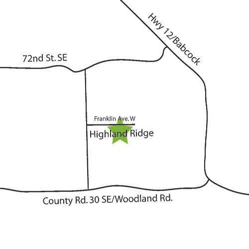 Directions to Highland Ridge