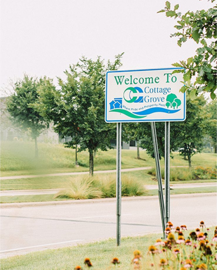 Cottage Grove Sign