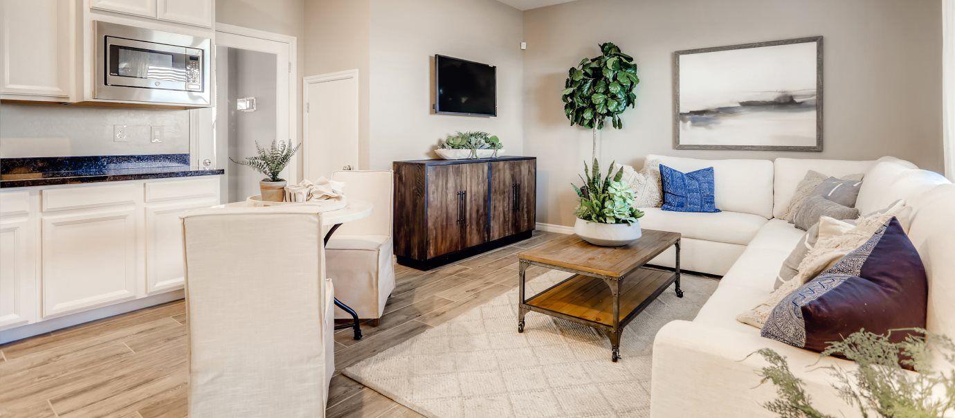 Silverado Valley The Enclave Sage Living Room