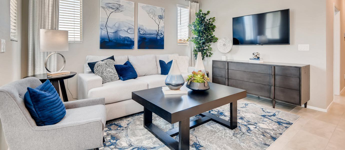 Morning Ridge Marigold Living Room