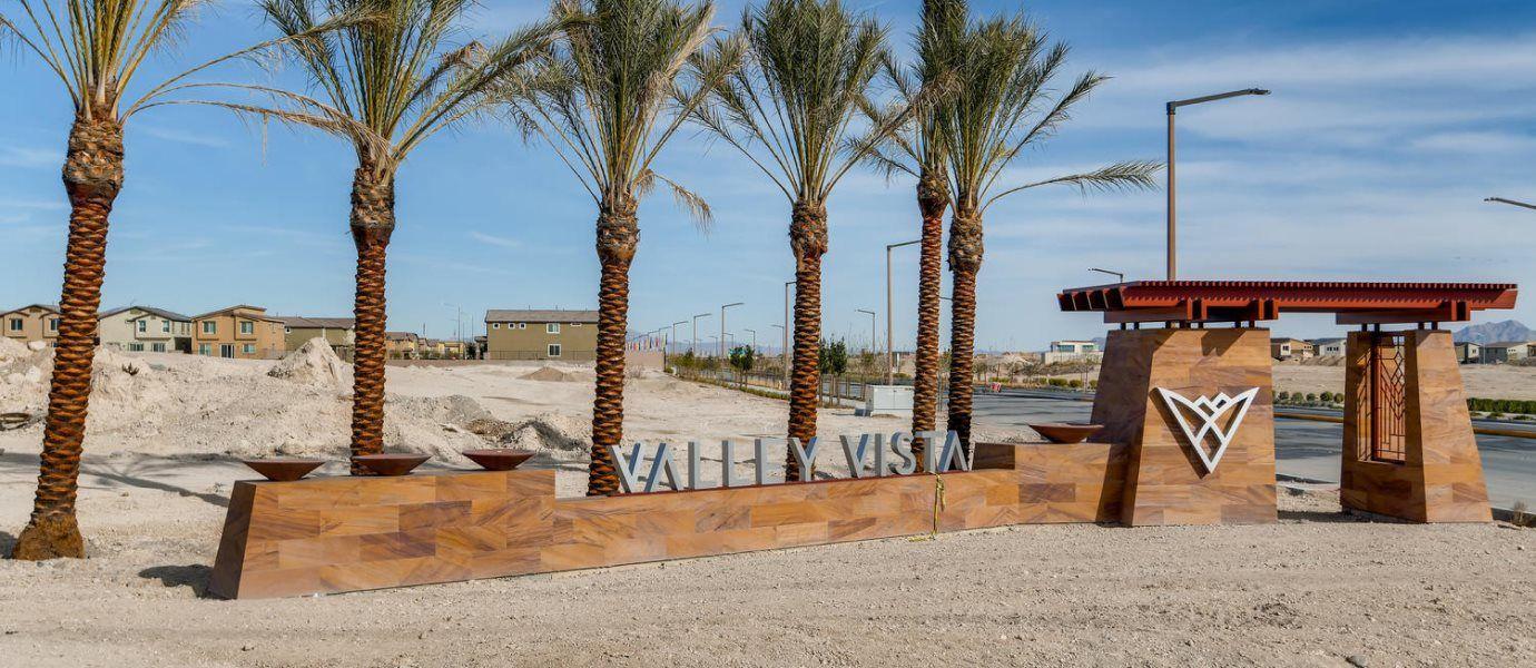 Valley Vista Entrance