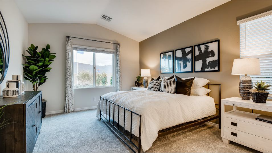 Valley Vista Granbury Soren Owner's Suite 2:One owner's suite is located conveniently on the first floor and features a private bathroom with a