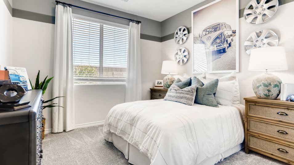 Emerson Orson Collection Arwen Bedroom 3:With three bedrooms in total, this home is great for small or growing families.