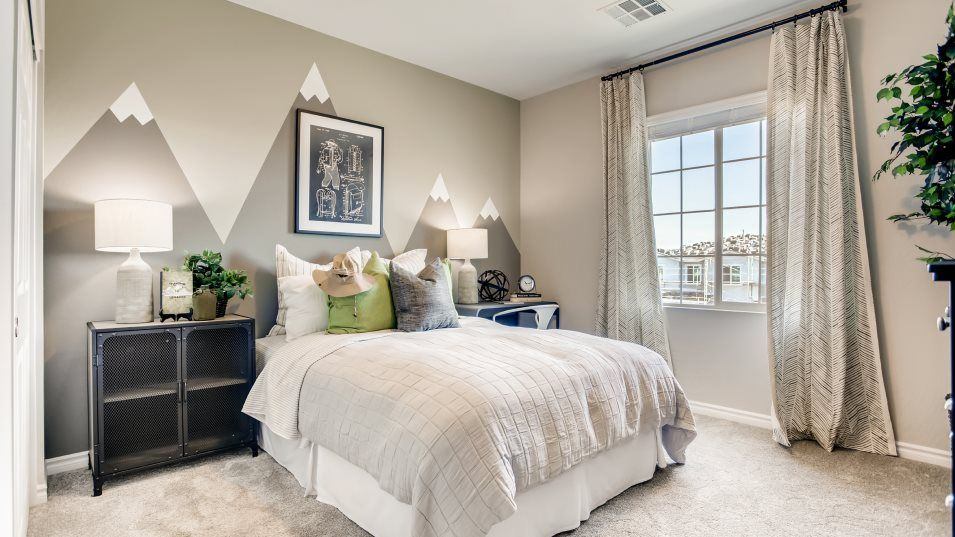 Altair Cardinal Bedroom 3:Located on the second floor, any of the secondary bedrooms could be transformed to meet the needs of