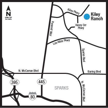 Location of Kiley Ranch