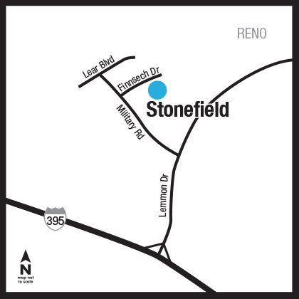 Location of Stonefield