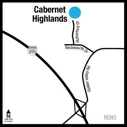 Location of Cabernet Highlands