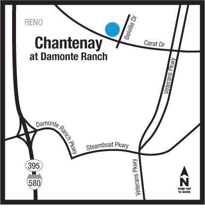 Location of Chantenay