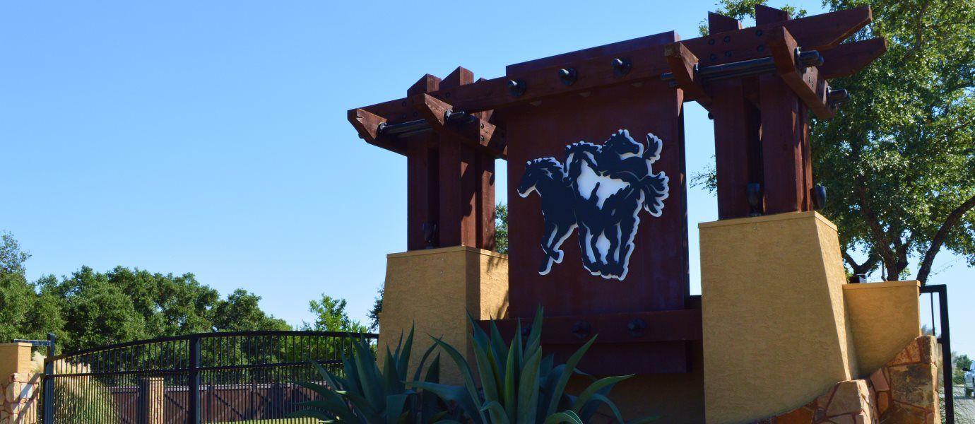 Potranco Ranch Entrance