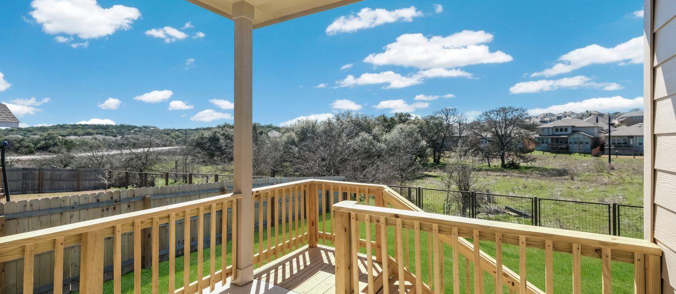 Johnson Ranch Home Deck