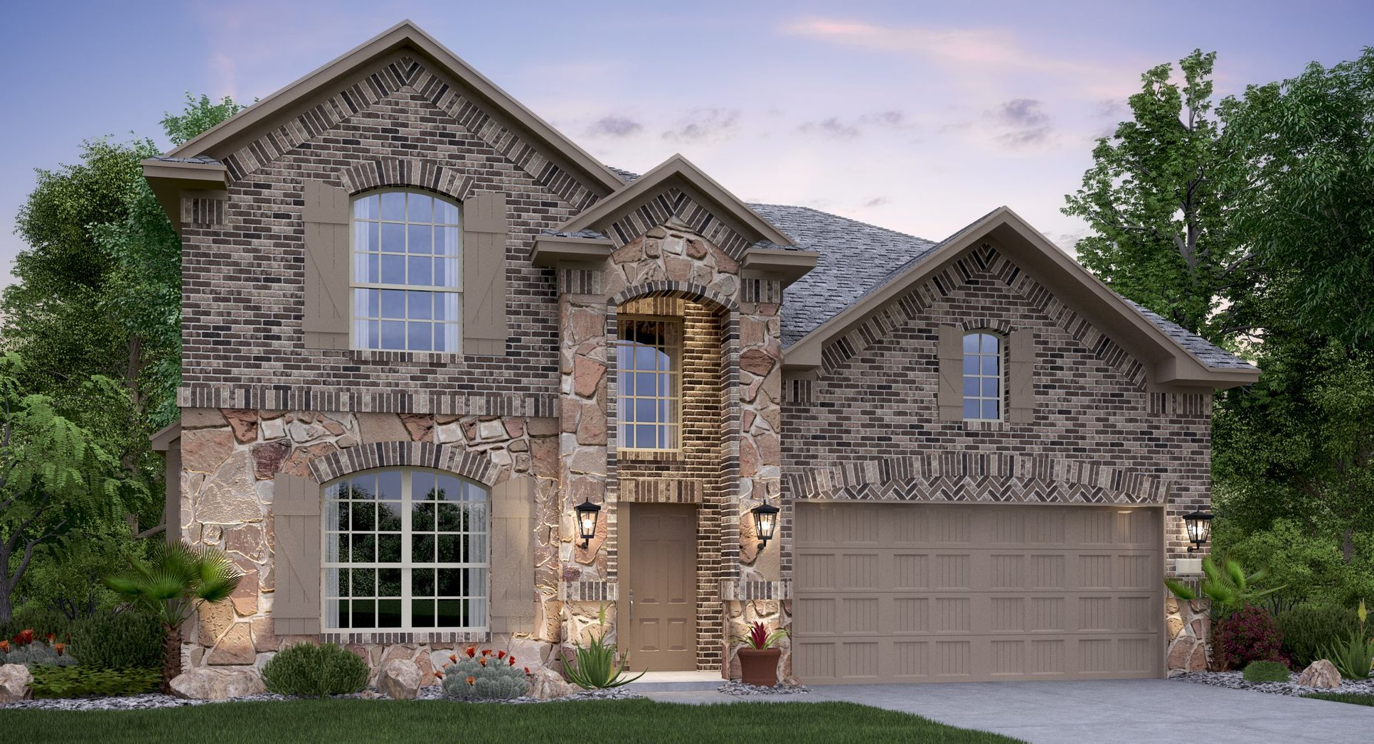 Johnson-Ranch Brookstone II Collection Alabaster A